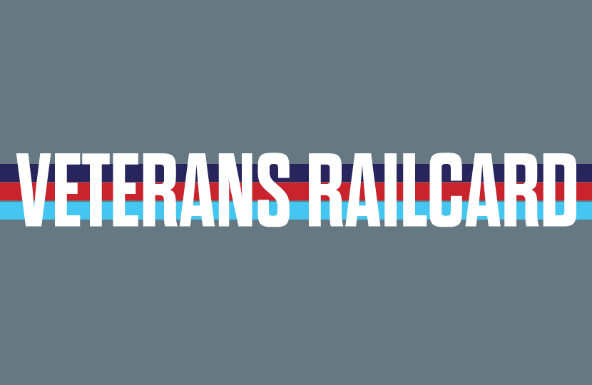 Veterans Railcard launched