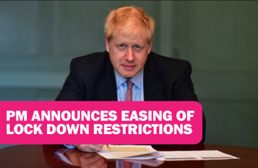 PM announces easing of lock down restrictions