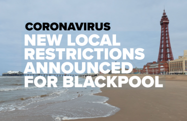 New local restrictions for Blackpool