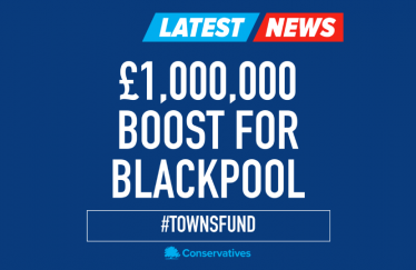 Towns Fund boost for Blackpool
